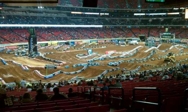 Georgia Dome, row: 35