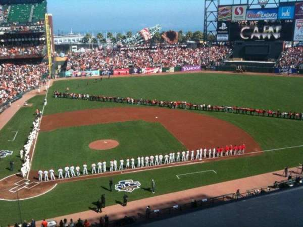 AT&T Park, section: 310, row: A, seat: 3