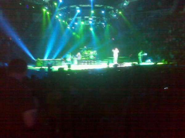 Michelob Ultra Arena, section: 108, row: 7, seat: 7