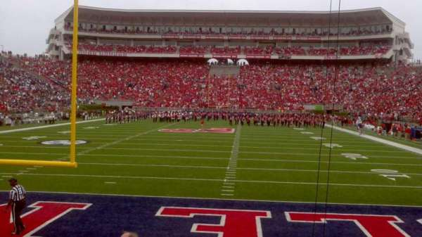 Vaught-Hemingway Stadium, section: 103, row: 7, seat: 16