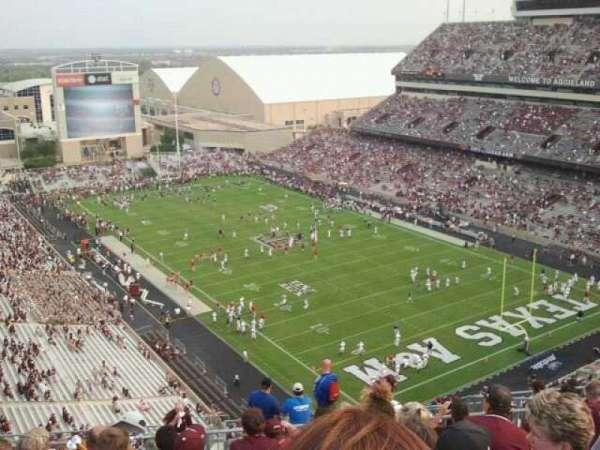 Kyle Field, section: 157