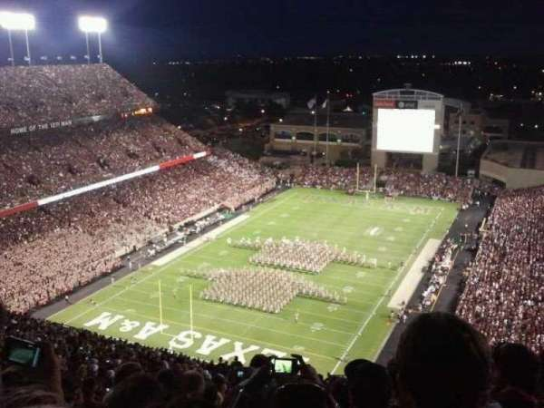 Kyle Field, section: 150