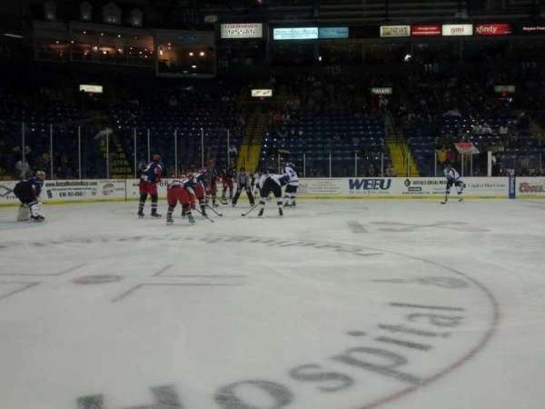 Santander Arena, section: 107, row: A, seat: 9