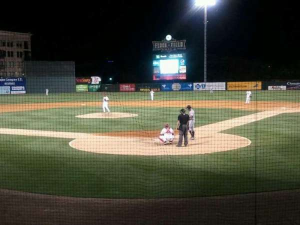 Fluor Field, section: 107, row: J, seat: 1