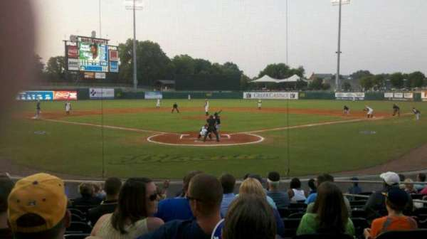 Montgomery Riverwalk Stadium, section: 111, row: 12, seat: 8