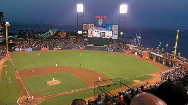 AT&T Park, section: 312, row: 5, seat: 6