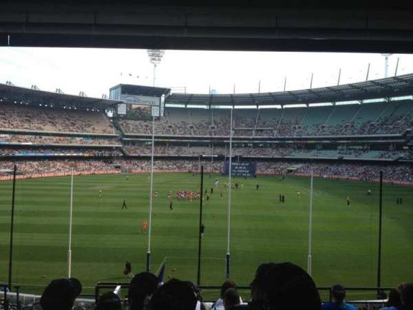 Melbourne Cricket Ground, section: N3, row: H, seat: 13