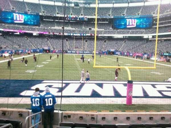 MetLife Stadium, section: 126, row: 9, seat: 21