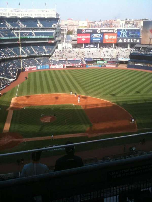 Yankee Stadium, section: 417, row: 6, seat: 11