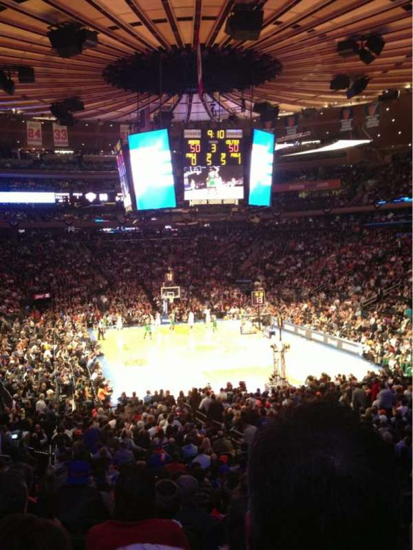 Madison Square Garden: Madison Square Garden, Section 101, Home Of New York
