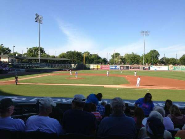 Dow Diamond, section: 112, row: 15, seat: 4