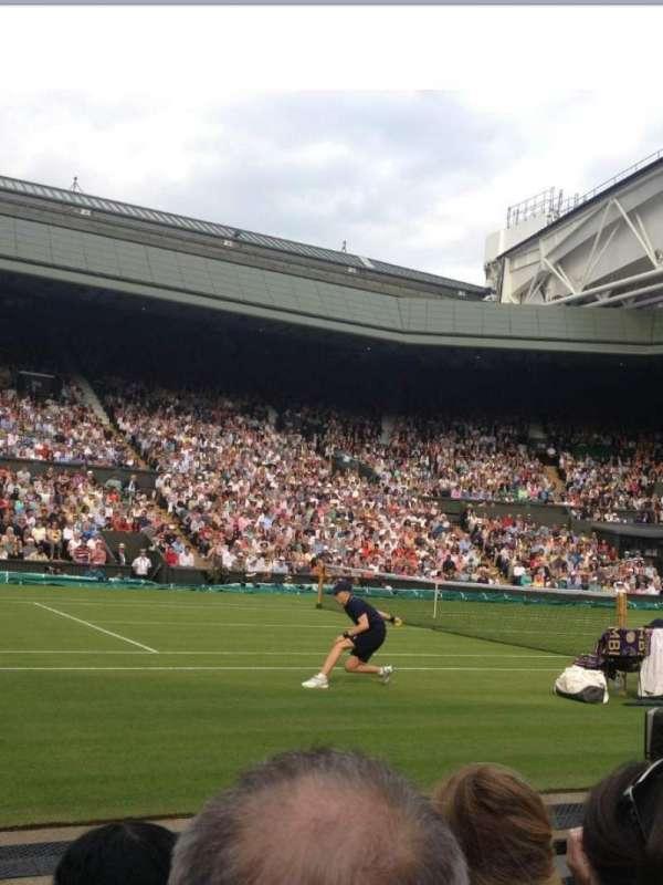 Wimbledon, Centre Court, section: 105, row: C, seat: 063
