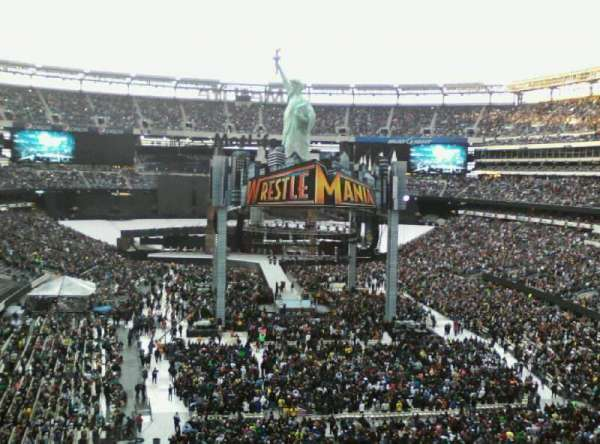MetLife Stadium, section: 228a, row: H, seat: 8