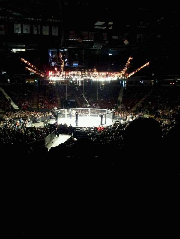 Sleep Train Arena, section: 109, row: w, seat: 7