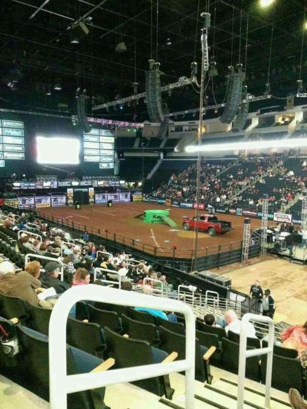 Infinite Energy Arena, section: 121, row: s, seat: 13