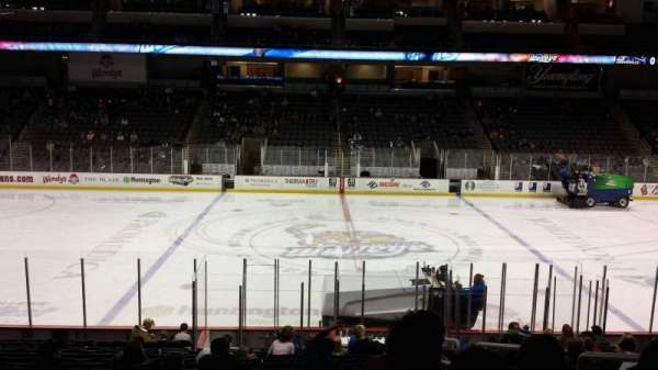 Huntington Center, section: 118, row: S, seat: 3
