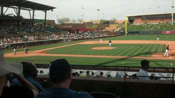 Salt River Fields, section: 207, row: 5, seat: 2