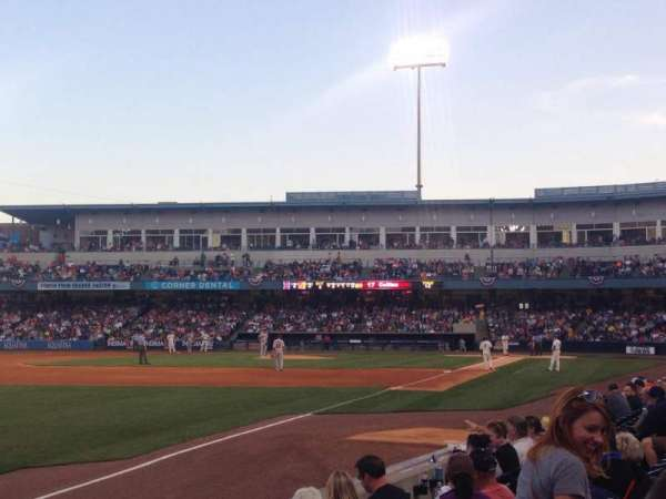Fifth Third Field, section: 101, row: G, seat: 7
