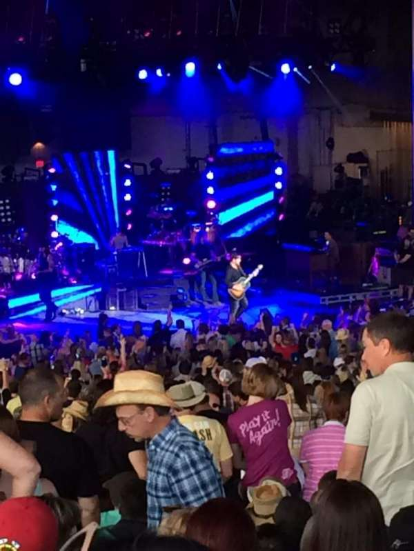 PNC Bank Arts Center, section: 404, row: F, seat: 127