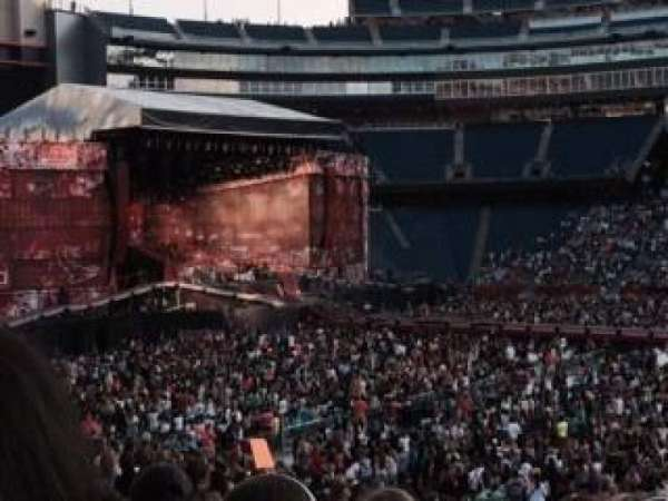 Gillette Stadium, section: 109, row: 29, seat: 6