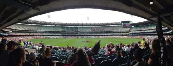 Melbourne Cricket Ground, section: M20