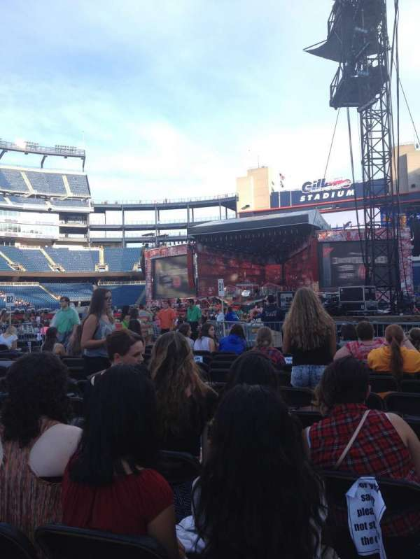 Gillette Stadium, section: C1, row: 11, seat: 4