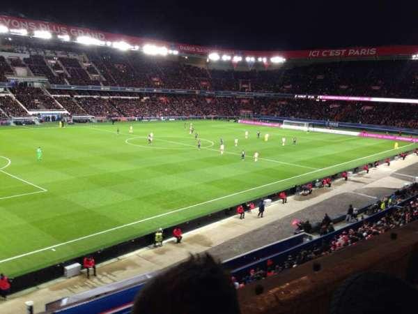Parc des princes, section: 303, row: 2, seat: 75