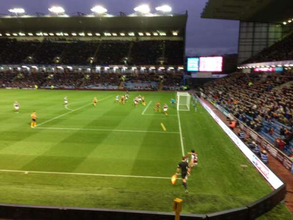 Turf Moor, section: Bob Lord Stand, row: K, seat: 5