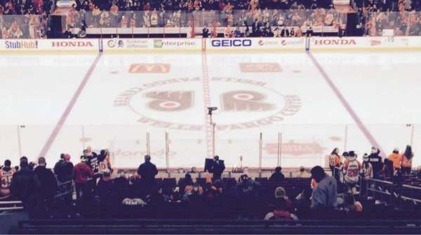 Wells Fargo Center, section: Club Box 13, row: 1, seat: 9