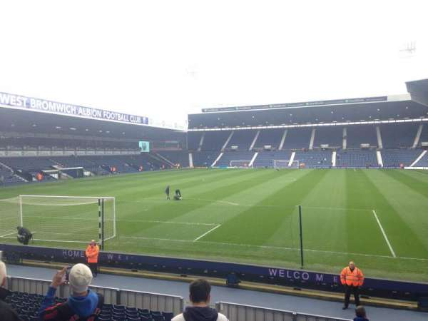 The Hawthorns, section: Away end, row: W
