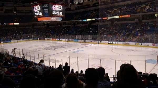 Mohegan Sun Arena at Casey Plaza, section: 102, row: Q, seat: 2