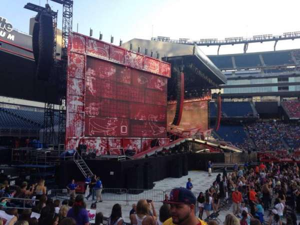 Gillette Stadium, section: 113, row: 9, seat: 19