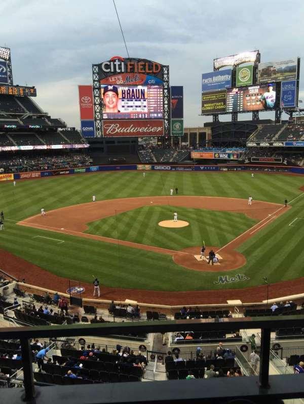 Citi Field, section: 321, row: 1, seat: 5