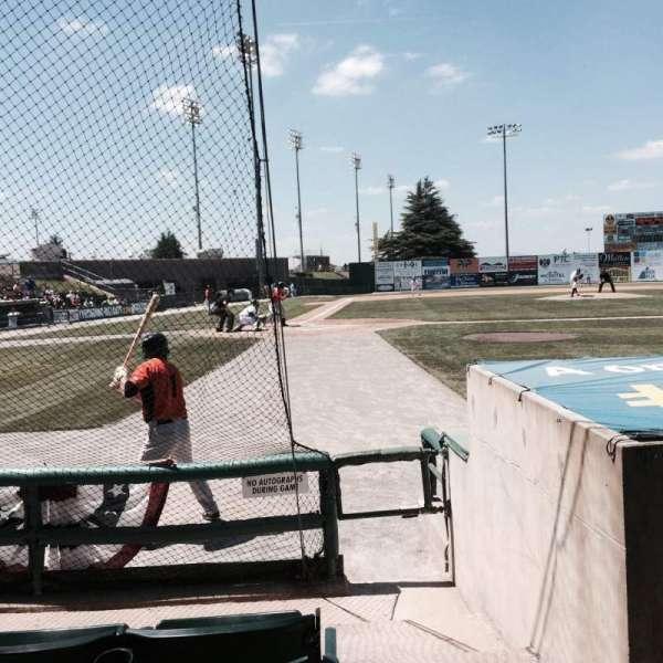 Calvin Falwell Field, section: GA