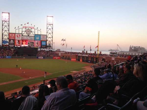AT&T Park, section: 212, row: E, seat: 8