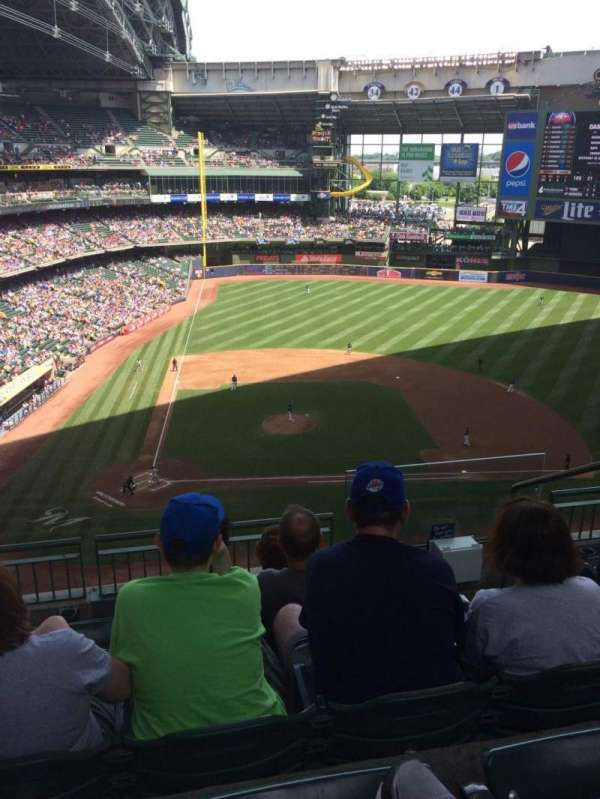 Miller Park Section 417 Home Of Milwaukee Brewers