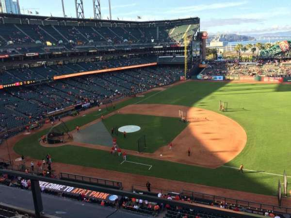 AT&T Park, section: VB305, row: B
