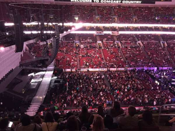 Wells Fargo Center, section: 223, row: 6, seat: 16