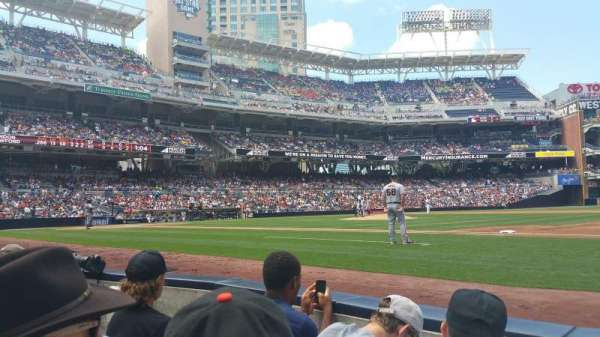 Petco Park, section: VIP Box 1, row: 7, seat: 7