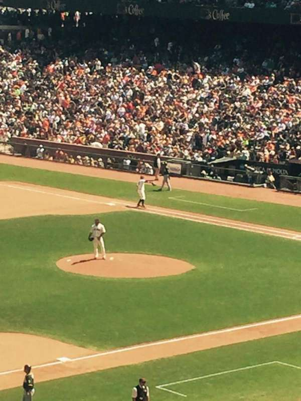 AT&T Park, section: 227, row: L, seat: 9