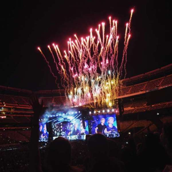 MetLife Stadium, section: 115A, row: 8, seat: 11