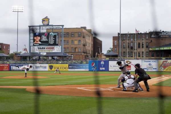 Fifth Third Field, section: 109, row: B, seat: 5