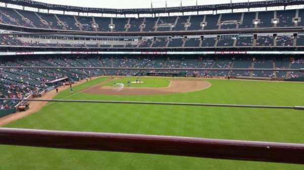 Globe Life Park in Arlington, section: 248, row: 1, seat: 20