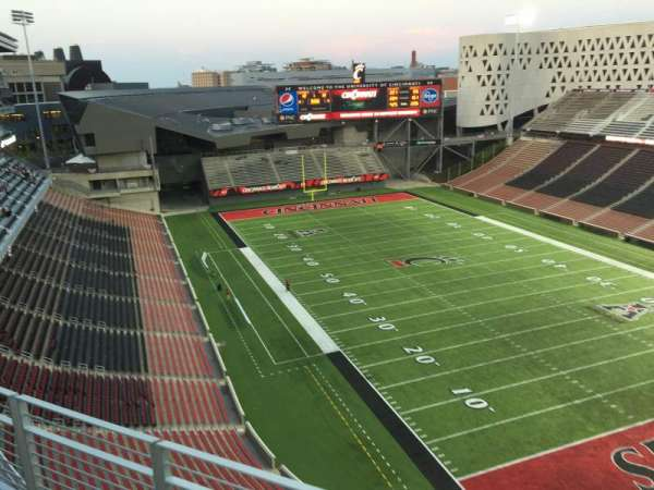Nippert Stadium, section: Wyler Terrace