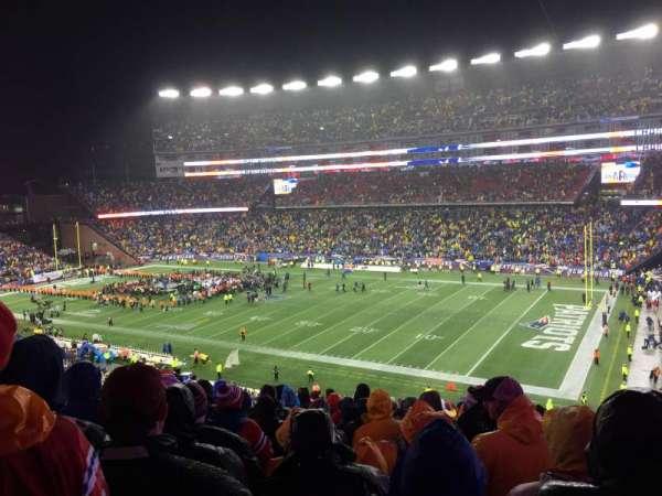Gillette Stadium, section: 227, row: 21