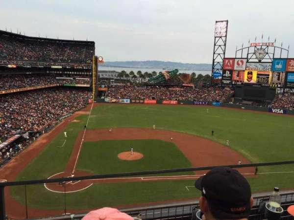 AT&T Park, section: 310, row: B, seat: 17