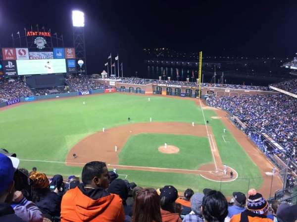 AT&T Park, section: 321, row: 7, seat: 5