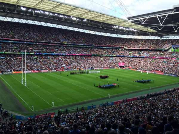 Wembley Stadium, section: 232, row: 8, seat: 125 - 126