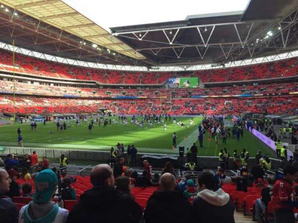 Wembley Stadium, section: 131, row: 19, seat: 256