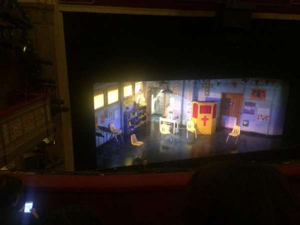 Booth Theatre, section: Mezzanine R, row: C, seat: 2